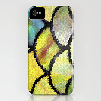 Yellow mosaic iPhone Case by Sylvia Cook Photography | Society6