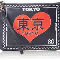 "Rebecca Minkoff Leather Travel Pouch - ""Tokyo"""