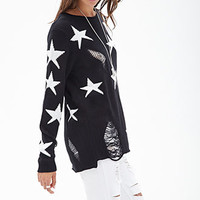 Shredded Star Sweater