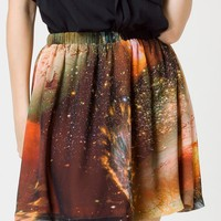 Galaxy Skater Reversible Skirt