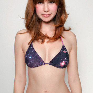 Girls Intergalactic Bikini Top - Glamour Kills Clothing