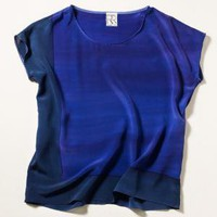 90* Square Silk Tee | Rachel Rose
