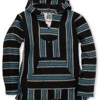 Senor Lopez Boys Punta Perfecta Black & Turquoise Poncho at Zumiez : PDP