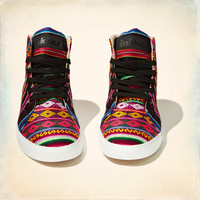 Inkkas Black Spectrum High Top Sneaker