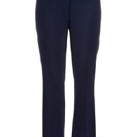 Navy Smart slimming bootcut plus size pants