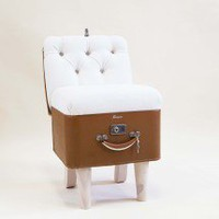 Suitcase Chair ? Paragon Caramel Linen ? Seating ? Recreate