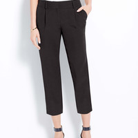 Petite Relaxed Cropped Pants