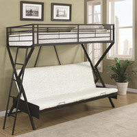 Darrow Twin over Futon Bunk Bed