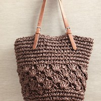 beach days straw tote at ShopRuche.com