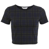 Green Check Co Ord Top - Tops - Apparel