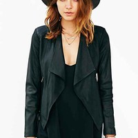 BB Dakota Tyne Leather Jacket - Urban Outfitters