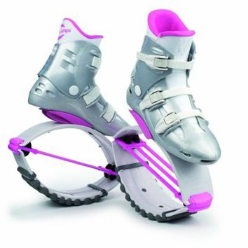 Kangoo Jumps KJ-XR3 White and Pink Small Womens 4 5 6 Mens