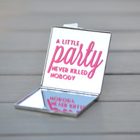 Great Gatsby party favor, wedding favor or small gift | A little party never killed nobody
