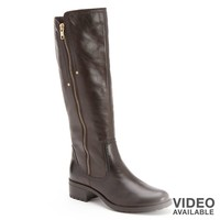 Gia Leather Riding Boots - Women