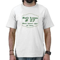 Dad's funny advice t-shirts and gifts for him. from Zazzle.com