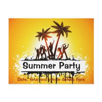 Summer party flyer from Zazzle.com