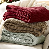 Grand Chenille Throw