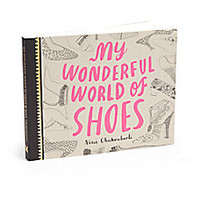 Chronicle Books - My Wonderful World Of Shoes Book - Saks Fifth Avenue Mobile