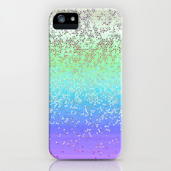 Glitter Star Dust G242 iPhone & iPod Case by MedusArt