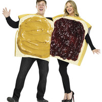 Peanut Butter and Jelly Couples Costume – Spirit Halloween