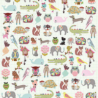 Pets Wrapping Paper Two Sheets