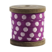 Ribbon Dot, Fuchsia