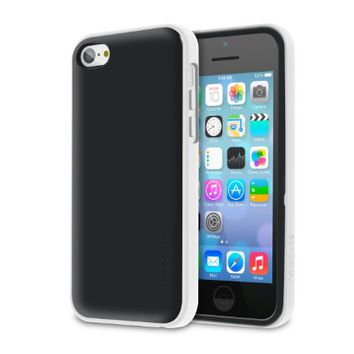 rooCASE Apple iPhone 5C Dual Layer Case [Hype Hybrid] (White) Advanced Shock Absorption Technology