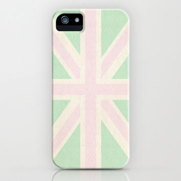 Mint Union Jack iPhone & iPod Case by Just Peachy | Society6