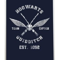 409 Quidditch Harry Potter Hogwarts Team Captain - White Silicone Case for iPhone 5 / 5S