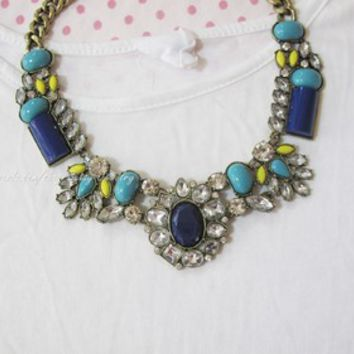 Bohemia National gem Statement Necklace