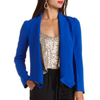STUDDED OPEN FRONT BLAZER