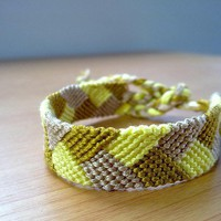 Friendship Bracelet, Braided, Micro Macrame,  made to order