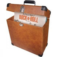 Amazon.com: Crosley CR401-TA Record Carrier Case (Tan): Electronics