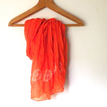 Orange Scarf, Fall Scarves, Autumn scarves, Fashion Women's Scarves , gift, shower, #fall #weddings, bridesmaids gifts, wedding favor, party