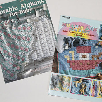 Crochet Pattern Booklets for Baby, (2) Booklets, PAT106