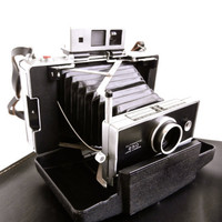 Vintage Polaroid Automatic 250 Land Camera With Case, Directions, & Accessories
