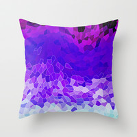 INVITE TO LILAC Throw Pillow by Catspaws   Society6