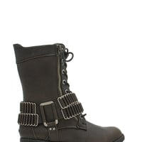Chain-ge The Game Faux Leather Boots