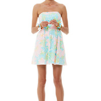 FINAL SALE - Lottie Strapless Lace Dress - Lilly Pulitzer