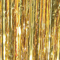 Gold Foil Curtains, Gold Metallic Foil Curtains