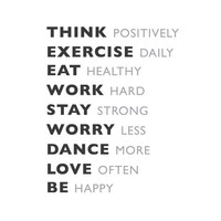 """wall quotes wall decals - Daily Goals - 24""""x30"""""""