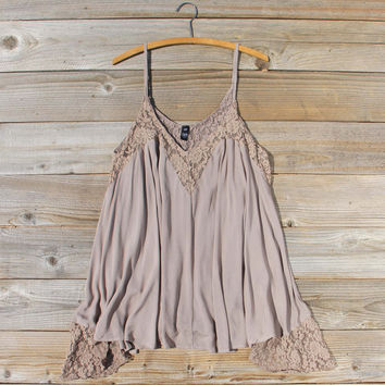 The Linden Layering Tunic in Fawn