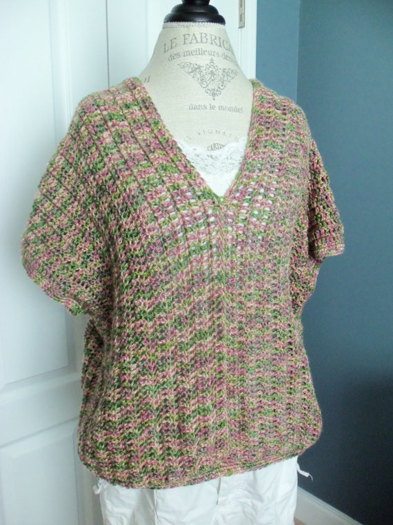 Woman Large/X-Large Sweater Vest