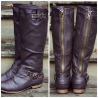 Maplewood Trail Brown Riding Boots