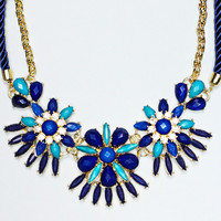 The Charm of the Seas Necklace - BLUE