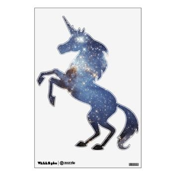 Unicorn Starry Space Wall Decal