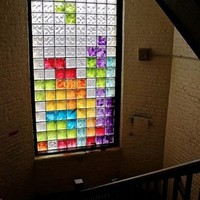 Fancy - Tetris Stained Glass Window