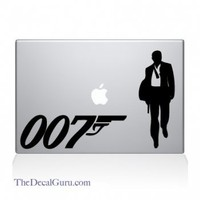 James Bond Macbook Decal
