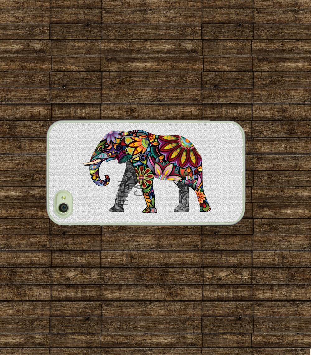 Iphone Case - Colorful Elephant , I.. on Luulla