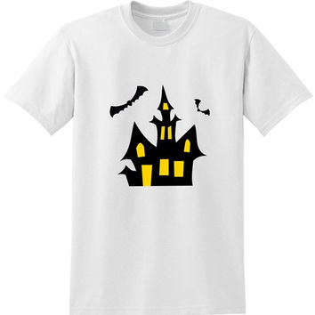 Haunted House tshirt for men
